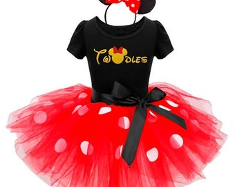 Oh Twodles Birthday Shirt / Minnie Mouse Birthday Outfit / I'm Twodles Second Birthday Outfit / Minnie Mouse Shirt