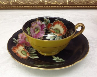 Hand Painted Merit China demitasse