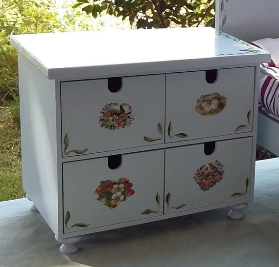 18 inch doll wooden chest of drawers