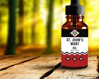 St. John's Wort Oil  (50ml / 1.7oz) FREE SHIPPING
