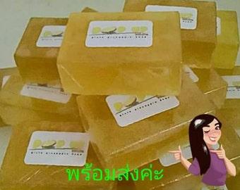 POP UP White Gluta Pineapple soap Whitening skin 100g  x3
