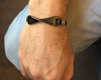 Leather Bracelet, Mens Leather Bracelet, Bracelet, Mens Bracelet, Men's Gift for Men, Bracelet Gift, Gift, Men's Jewellery, Mens Gift