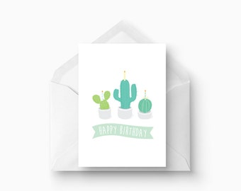 Plant Lovers Birthday Card