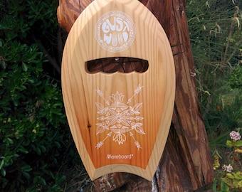 Bodysurfing Board solid wood