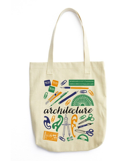 Gift For Architect Architect Tote Bag Architect Bag