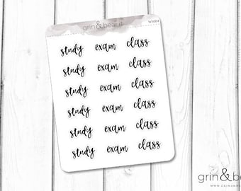 Student Word Stickers (WS004)