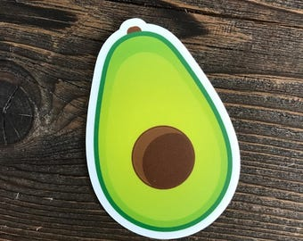 Avocado Die-cut Sticker