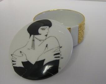 Art Deco style Trinket box