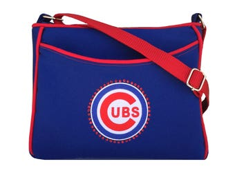Chicago Cubs Purse MLB Bling Handbag