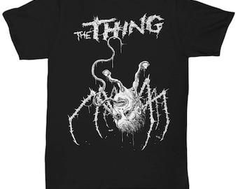 THE THING classic horror movie 80'S John Carpenter Kurt Russell shirt Tee T-shirt  S - 5XL  6 Colours