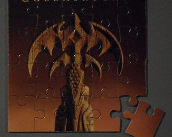 Queensryche CD Cover Magnetic Puzzle