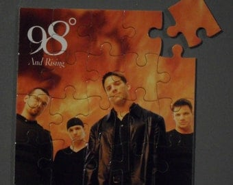 98 Degrees CD Cover Magnetic Puzzle