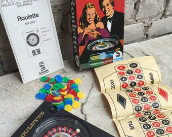 Vintage Roulette Game by Schindler