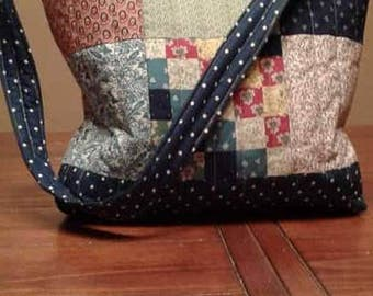 Quilted Purse with snap