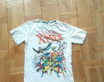 MARVEL COMICS TSHIRT Spider Man Hulk Capitain America Wolverine Thor Shriiipp Series Tv Rare Television Comics Shirt Animated Tee Top