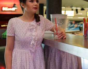 Dress 1940 / vintage dress / 1940 s dress/WWII Dress / dress retro/Vintage dress