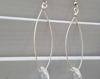 Chandelier Crystal Dangle Earrings
