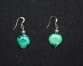Azurite Earrings