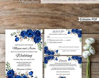 royal wedding invite etsy. Black Bedroom Furniture Sets. Home Design Ideas