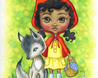 Red Riding Hood (Giclee Print)