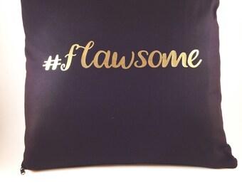 Personalised Hashtag Cushion Cover