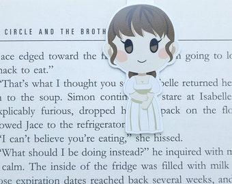 Pride and Prejudice - Magnetic bookmark - Elizabeth Bennet || book lover gifts | Jane Austen | bookmark | bookish | bookmarks | mr darcy