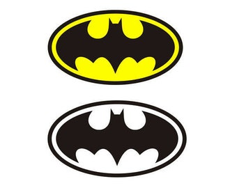 Batman SVG, superhero svg, batman sign, cricut silhouette cutting file, dxf, eps, png, download