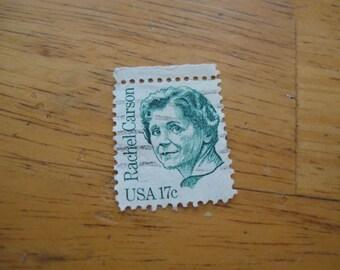 Rachel Carson usa 17 cent stamp