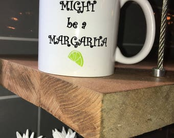 Funny Coffee Mugs For Work - 11 oz Margarita Cup - Cinco de Mayo Party Favors, Decorations, Gifts - Birthday Gift for Women, Mom, Coworkers