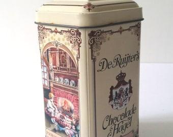 De Ruijter's Pure Chocolate sprinkles tin
