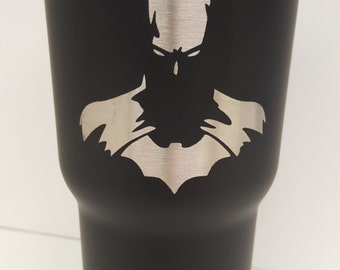 Batman Powder Coated Tumbler