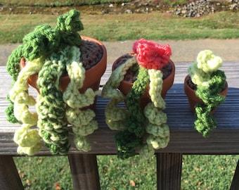 Crochet Vine Set