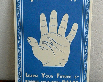 Palmistry Poster (Shut Eyes!!!)  // Palm Reading