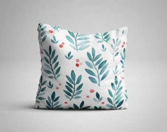 Leaves and Berries Cushion.