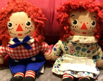 Knickerbocker Raggedy Ann and Andy