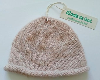 100% cashmere Hat 'Courmayeur series' made in Italy