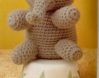 Vintage Toy Elephant Crochet Pattern