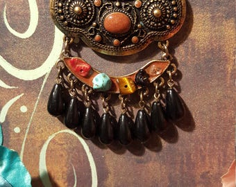 UNIQUE PENDANT/BEADED Necklace - Absolutely Chic !!!