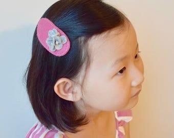 Lily Felt Flower Hair Clip