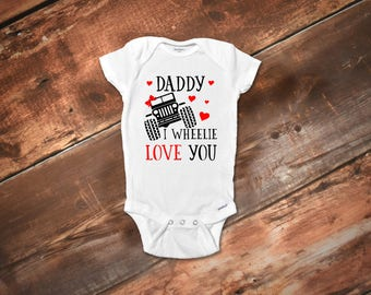 Jeep Baby Girl Onesies®, Baby Girl Funny Onesies®, Daddys Girl Onesies®, Fathers Day Onesies®, Daddy Onesies®, Baby Girl Clothes