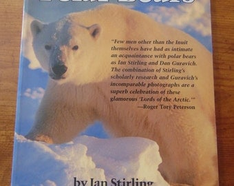 Vintage Polar Bears   Ian Sterling  1991  Photography  Dan Guravich  OOP