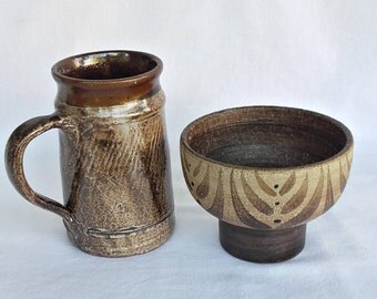 Ceramic Mug and Bowl