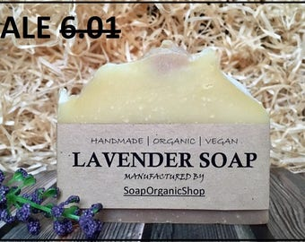 Soap lavender Dry skin soap Organic soap Homemade soap Shea oil soap Artisan soap Mother gift All natural soap Essential oil soap Vegan soap
