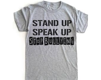 STOP BULLYING, ANTI-Bullying, safety pin, Stand with me, Campus rally, anti bullying movement, Stand up, speak up, End bullying, Pick style!