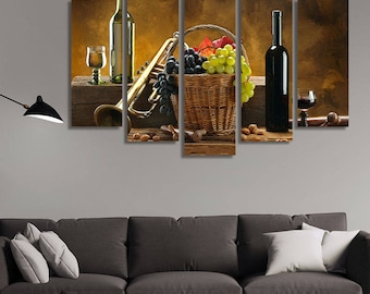 Wine Decor Wall Art wine photography | etsy