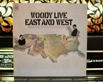 JAZZ RECORD - Woody Herman And The Swingin' Herd - Woody Live East And West - RARE Vinyl Record - Great Gift!