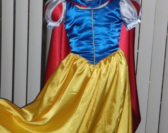 Snow White Princess Costume for Girls w/ Sleeve Options