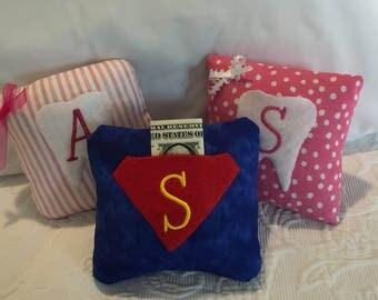 Tooth Fairy Pillow for Girlz & Boyz