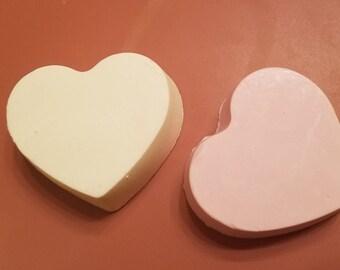 Chunky Heart Soap