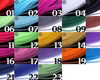 4 metre power hose of 4 mm colours in many different